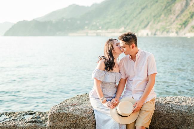 Photographer in Cinque Terre