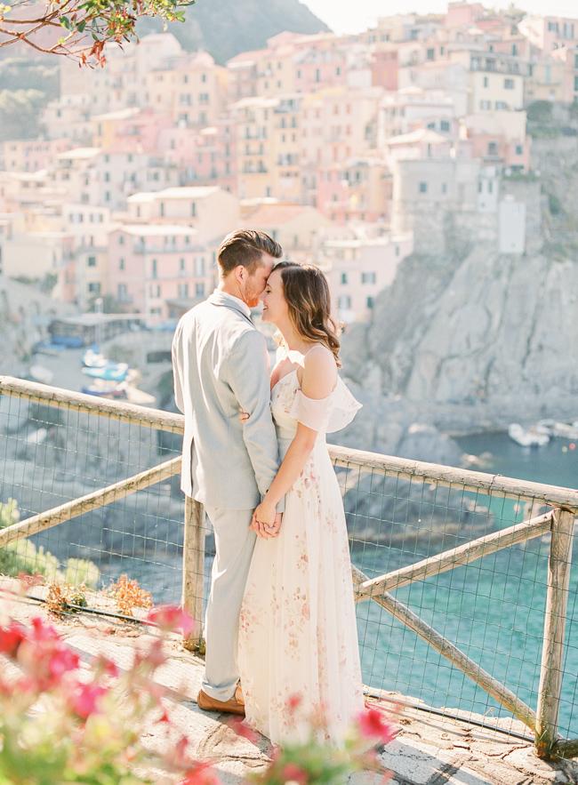 Photo session in Cinque Terre